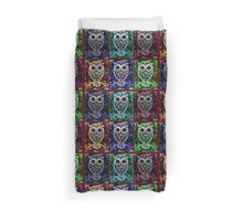 6 Owls Psychedelic Duvet Cover