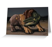 Ammit Greeting Card