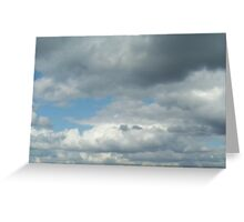 Cloud3frameD -R- photo Greeting Card