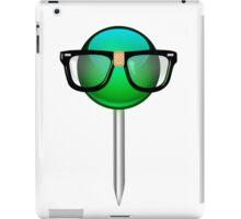Nerd hipster Geek t shirt iPad Case/Skin