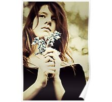 Bluebells always remind me of you Poster