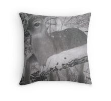 gentle nature  Throw Pillow