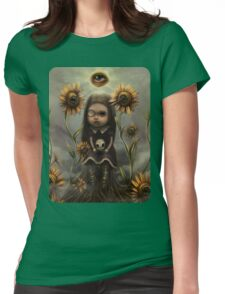 Death sighs Womens Fitted T-Shirt