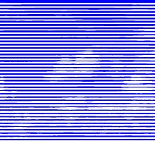 Cloud3frameD -C- White&Blue by AnnoNiem