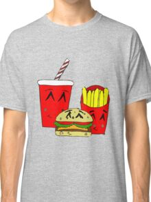 Cute fast food cartoon Classic T-Shirt