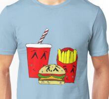 Cute fast food cartoon Unisex T-Shirt