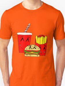 Cute fast food cartoon T-Shirt