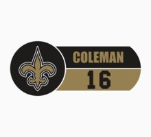 Saints Coleman by KeithSwo