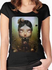 Uagus animis Women's Fitted Scoop T-Shirt
