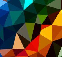 Abstract  multi colored Sticker