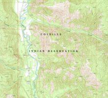 USGS Topo Map Washington State WA Louie Creek 242076 1989 24000 Sticker