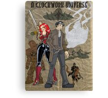 A Clockwork Universe Canvas Print