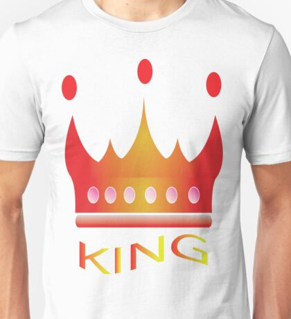 crown design for t-shirts Unisex T-Shirt