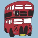 Cute London Bus by Zozzy-zebra