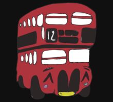 Cute London Bus Kids Clothes