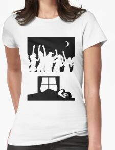 Party All Night - Sleep All Day - Teeshirt Womens Fitted T-Shirt