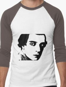 buster keaton . Men's Baseball ¾ T-Shirt