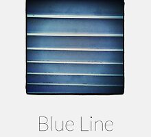 Blue Line - iPhoneography by Marcin Retecki