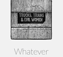 Whatever - iPhoneography by Marcin Retecki