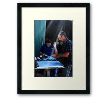 Shane and Royce  Framed Print