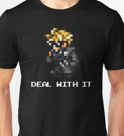 Deal With It - FFRK Cloud (FFVII) Unisex T-Shirt