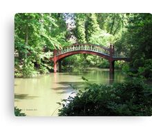 Crim Dell Bridge IV Canvas Print