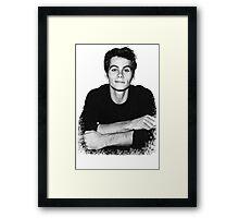 Dylan O'Brien Framed Print