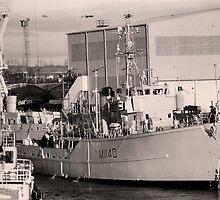 HMS Gavington by Paul Holman