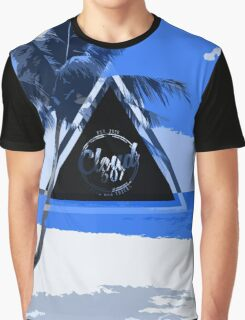 Abstract Beach Graphic T-Shirt