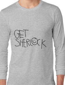 Get Sherlock (black) Long Sleeve T-Shirt