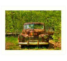 Classic Cadillac Art Print