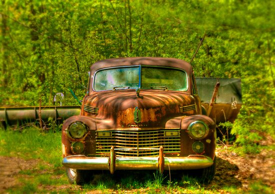 Classic Cadillac by Monica M. Scanlan