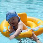 Playing in the pool by marolias