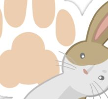 Cute rabbit Sticker