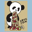 LOVESICK PANDA by Christopher Shockley - shock schism