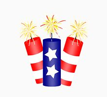 Trio of Firecrackers for the 4th of July  Unisex T-Shirt
