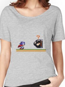 Mario Meets Sonic  Women's Relaxed Fit T-Shirt