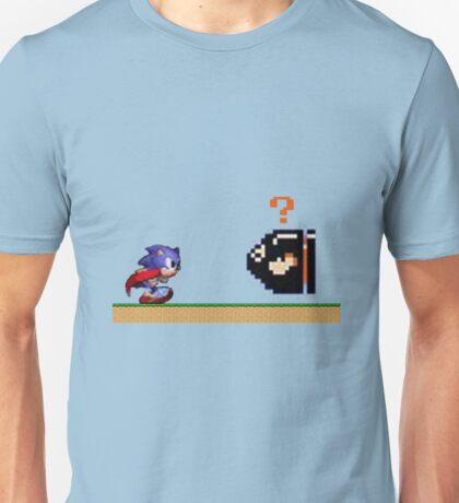 Mario Meets Sonic  Unisex T-Shirt
