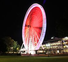 The Wheel of Brisbane by Jonathan Cassar