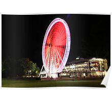 The Wheel of Brisbane Poster