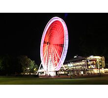 The Wheel of Brisbane Photographic Print