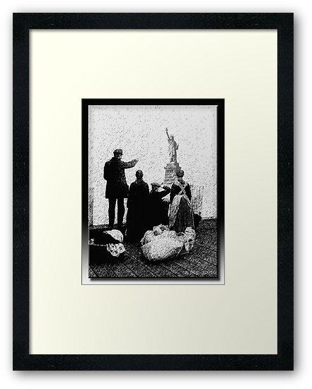 Ellis Island by Richard  Gerhard