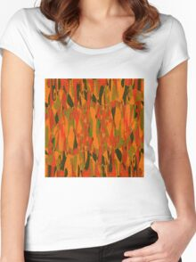 1114 Abstract Thought Women's Fitted Scoop T-Shirt