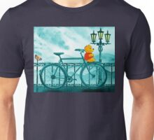 Bicycle And Bear Unisex T-Shirt