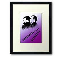 the Holmes boys  Framed Print