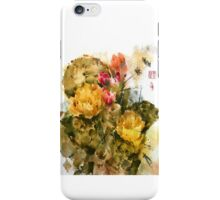 Southwest Sumi- Prickley Pear iPhone Case/Skin