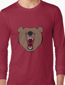Bears Are Awesome. Long Sleeve T-Shirt