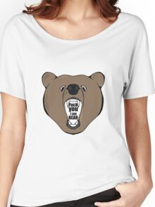 Bears Are Awesome. Women's Relaxed Fit T-Shirt