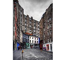 Looking up West Bow Photographic Print