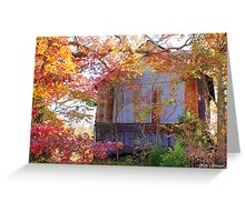 Sunny Days of Autumn! Greeting Card